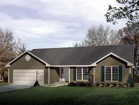 Cute basic ranch 1500 main no den HousesFloorplans