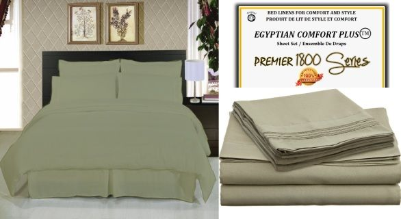 Expanded Queen Bed Sheets