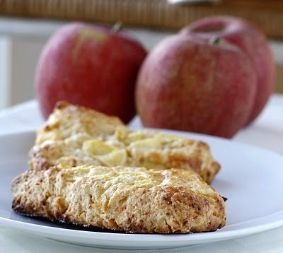 apple and cheddar scones | entrees and sides | Pinterest
