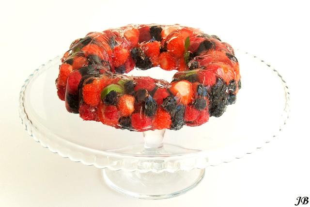 Zomerfruit terrine - summer fruit terrine