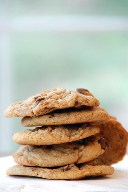 Chunky Peanut, Chocolate and Cinnamon Cookies