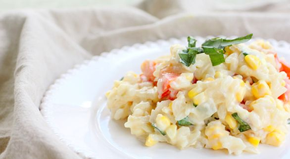 Tomato and Corn Risotto | Recipe