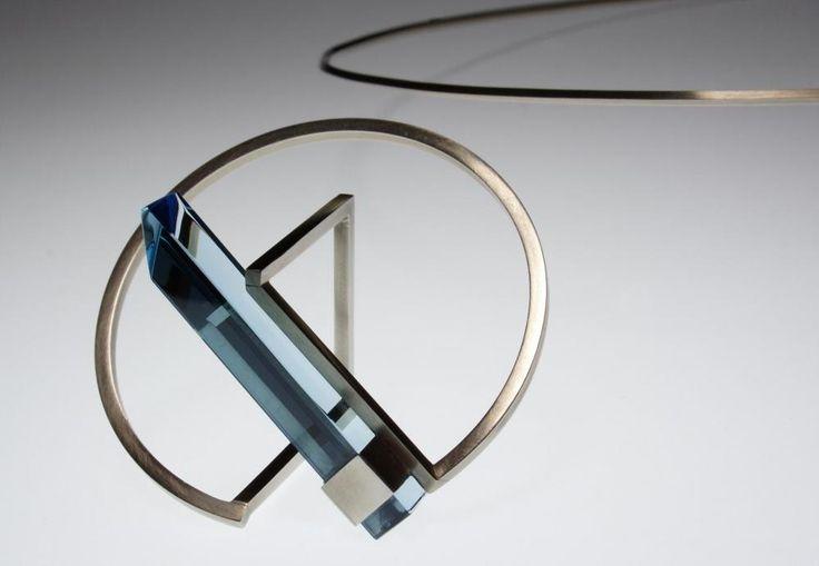 Marketa Silena - Bracelet sculpture de verre