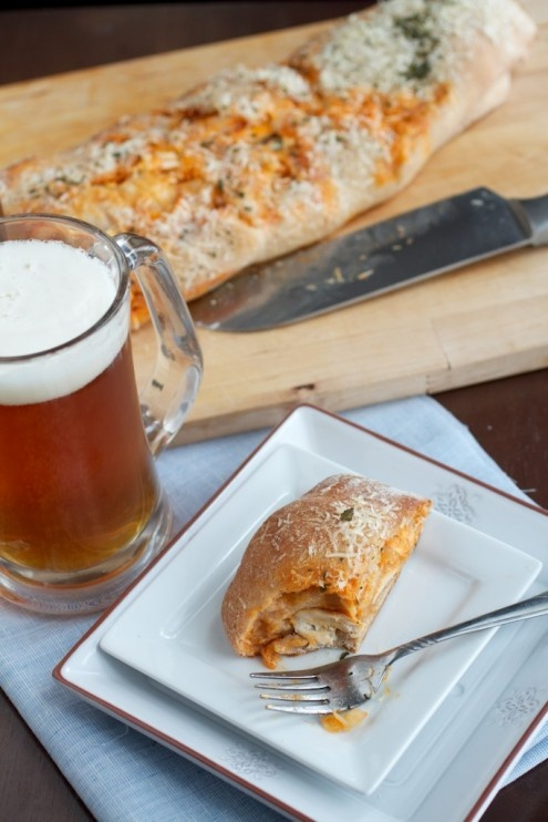 Buffalo Chicken Stromboli This would be great with the buffalo # ...