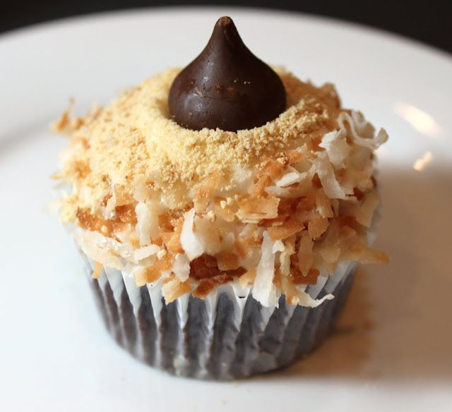 Cupcake - A rich chocolate cupcake with 7 minute marshmallow frosting ...