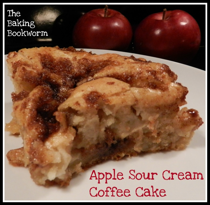 Apple Sour Cream Coffee Cake | A is for apple | Pinterest
