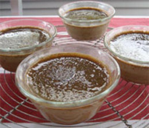 Baking with Dorie: Slippery-Slidey Cinnamon-Espresso Cup Custard ...