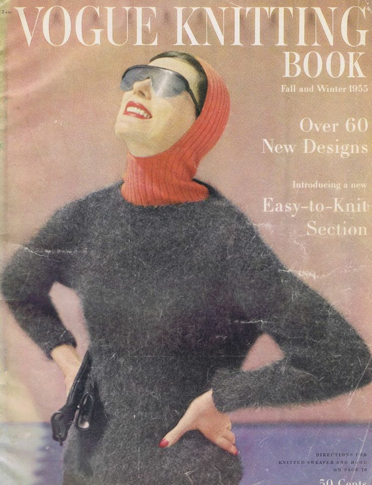 Free Vintage Vogue Knitting Patterns : Vintage vogue knitting patterns cardigan stole pullover coat jacket v?