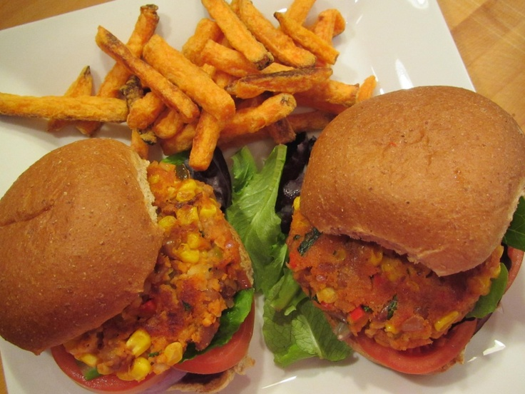 Southwest Pinto Bean Burger | Low-Carb and Diabetic Recipes | Pintere ...