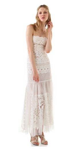 Robe de mariée style bohème chic  Mode  Pinterest