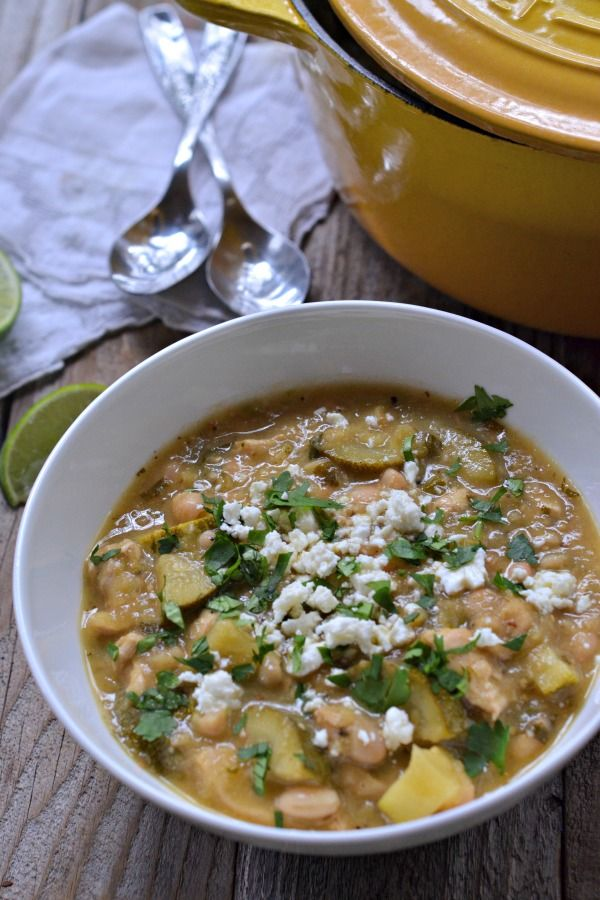 Chicken Tomatillo Stew | mountainmamacooks.com