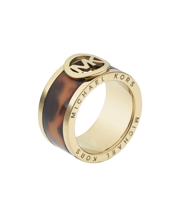 michael kors tortoise golden ring on the cusp for the animal lover pinterest. Black Bedroom Furniture Sets. Home Design Ideas