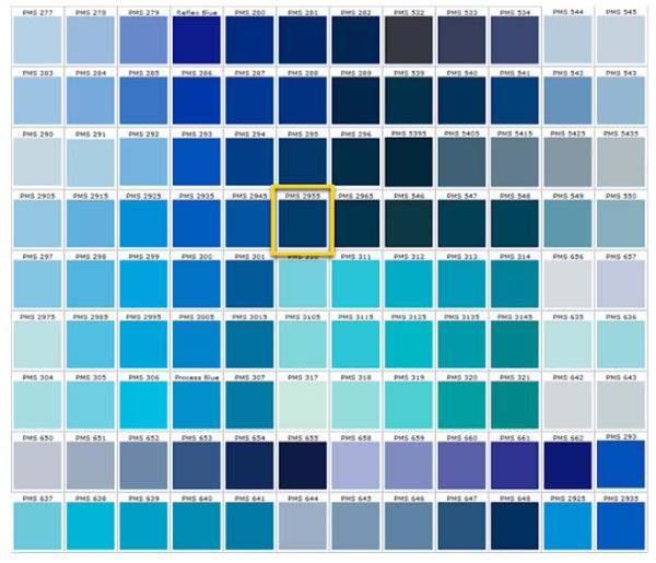 Shades of blue blue colors accent on design blog for Different shades of blue