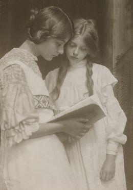 Rudolf Dührkoop, Gertrude und Ursula Falke (1906)