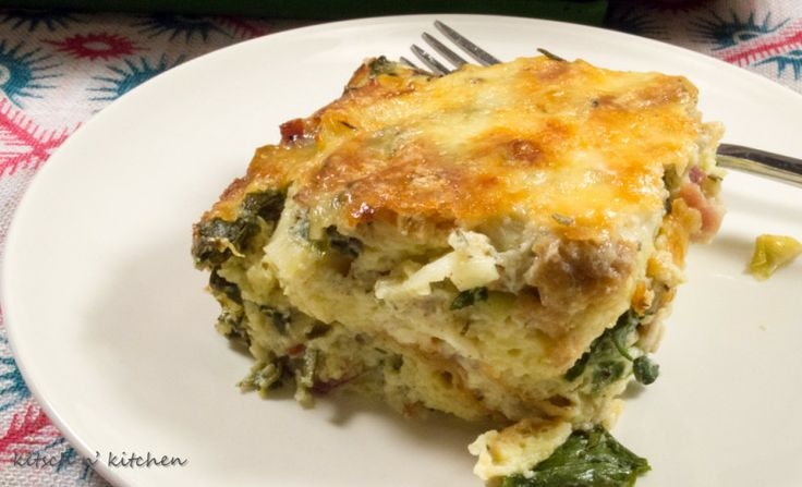 Arugula, Bacon, And Gruyère Bread Pudding Recipes — Dishmaps