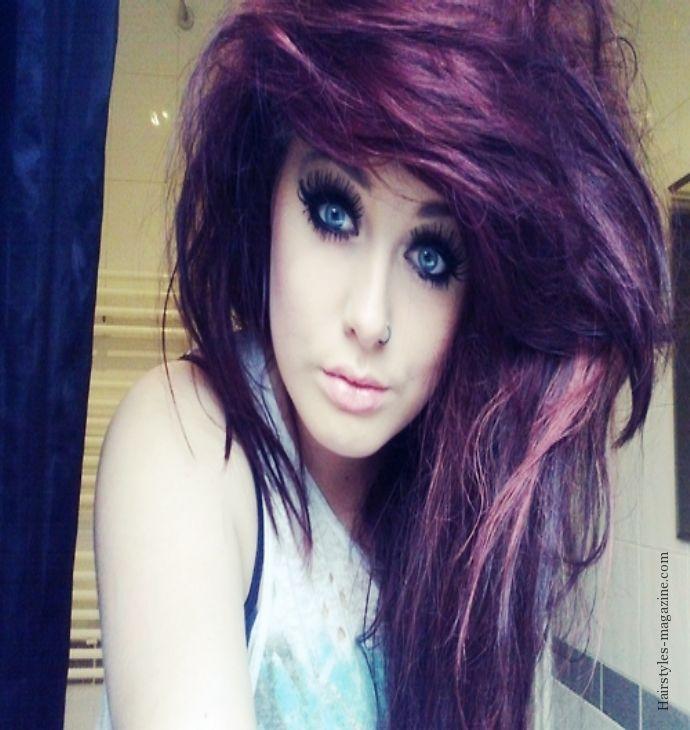rocker girl hairstyles : emo rocker girl hairstyle 2013 Hair Pinterest