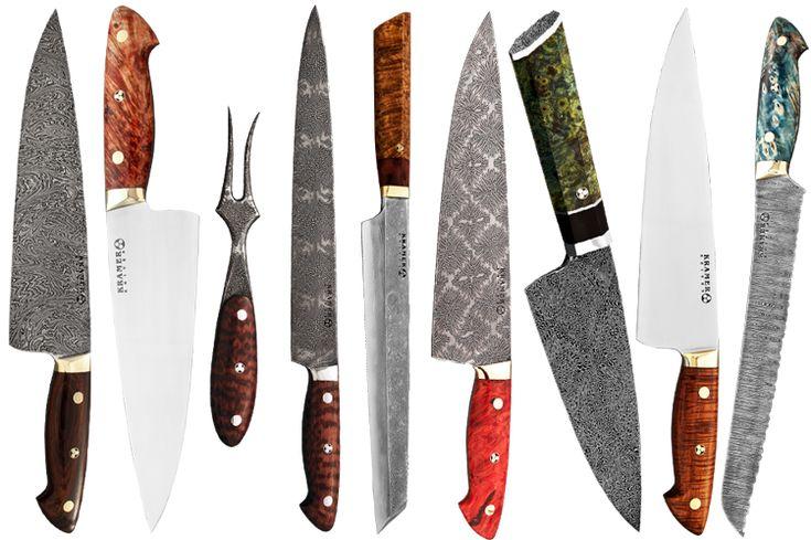 Bob kramer knives kitchen accessories i love pinterest for Kramer knives