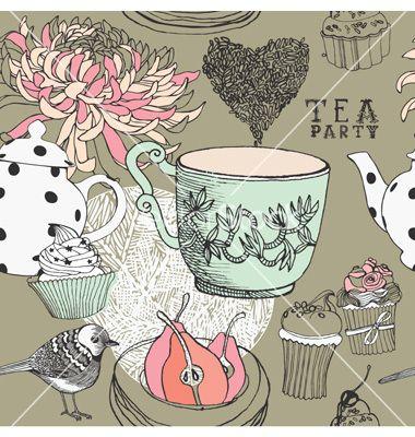 The vintage tea party year une touche de vintage