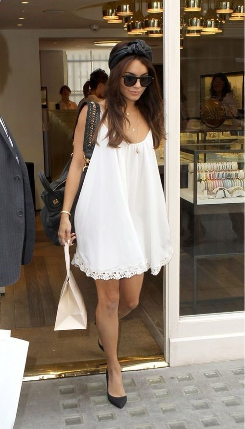 White Baby doll dress My Style