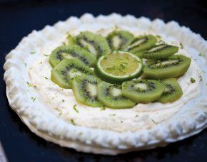 ... ve been wanting to make for some time... Kiwi Pavlova With Lime Zest