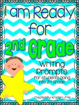 Am ready for second grade writing prompts for students going into