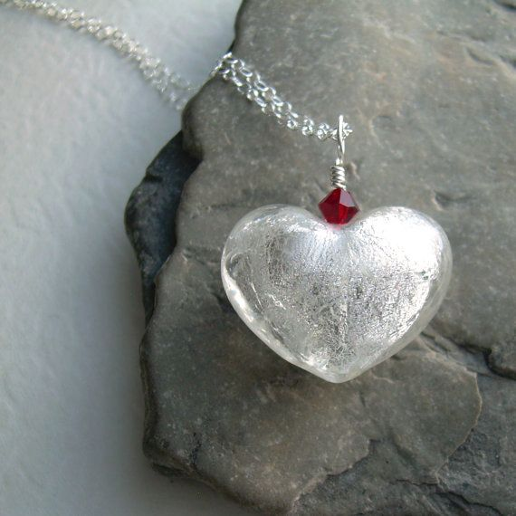 white valentine jewelry