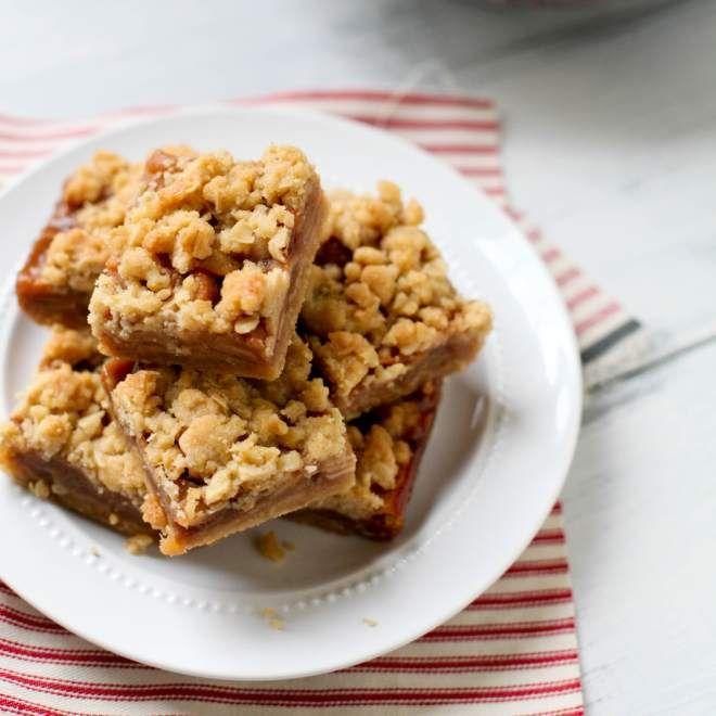 ... salted caramel caramel apple cheesecake bars easy caramel apple bars