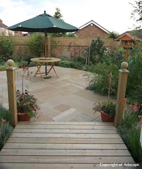 Very Small Backyard Gardens : Small Garden Design Examples  Berkshire, Buckinghamshire, Surrey