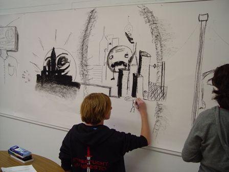 Collaborate Teen Art Night 59