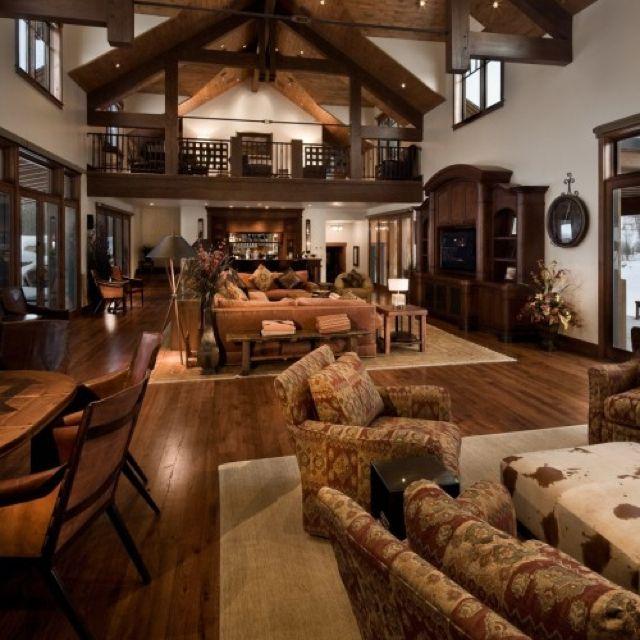 Open floor plan home decor pinterest - Open house decorations ...
