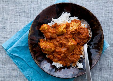 Chicken Curry In A Hurry From Bon Appetit Recipes — Dishmaps
