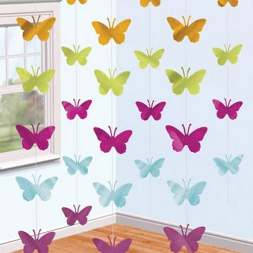 Butterfly String Party Decorations