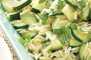 Orzo and Zucchini Salad Recipes | soups & salads | Pinterest