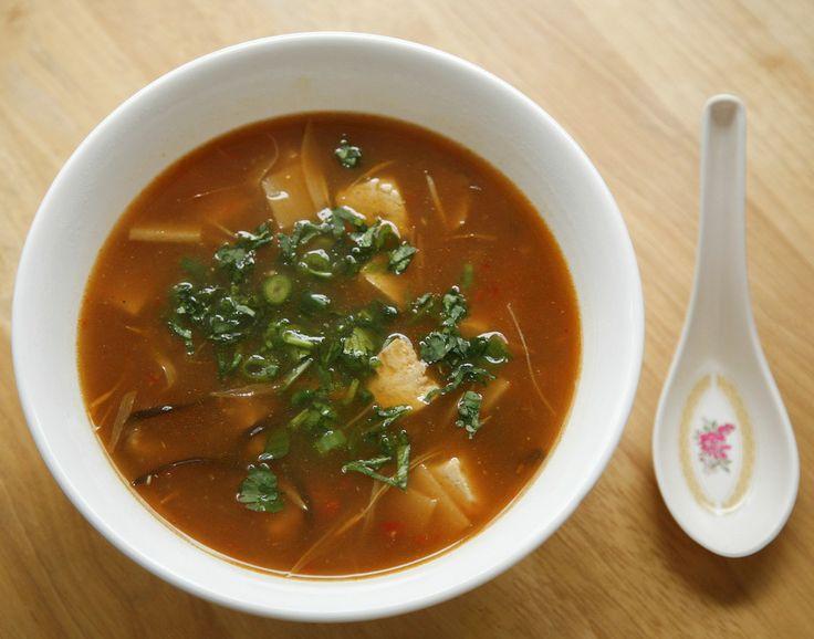 go vegan meow!: Hot and Sour Soup | Souptacular! | Pinterest