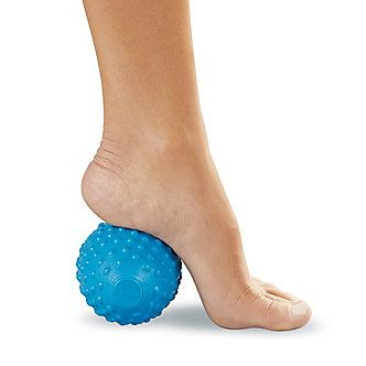 Give plantar fasciitis heel pain a massage with the HeatFreeze Arch Massager