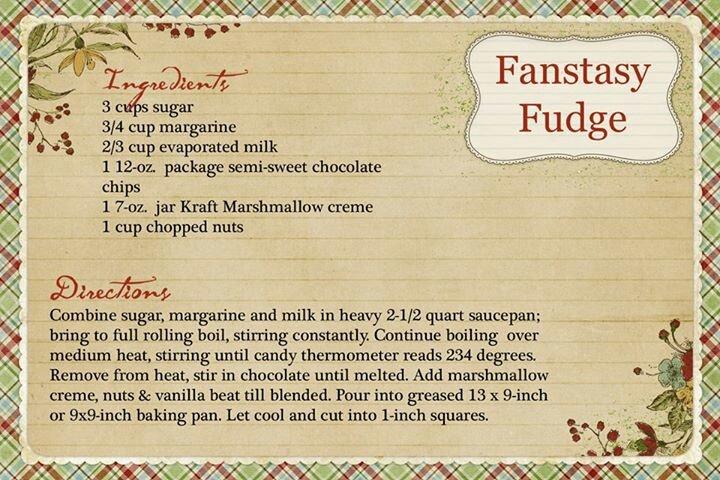Fantasy Fudge | Candies Nuts &Mixes | Pinterest