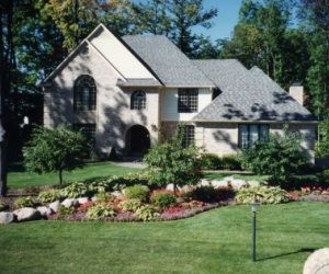 landscaping ideas for large front yards | Grand Blanc Michigan Front ...