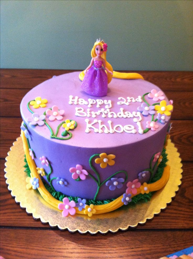 Sweet and small Rapunzel cake  Baby Cakes  Pinterest
