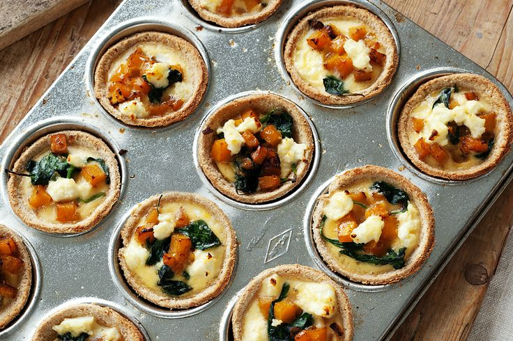 Super easy mini quiches | Lunchbox ideas | Pinterest