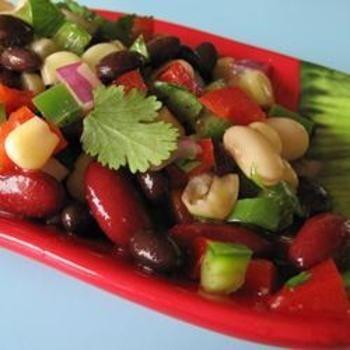 Mexican Bean Salad | vegie////lo carb | Pinterest