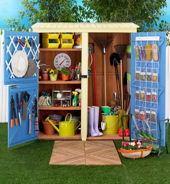 Kie guide: English garden shed designs