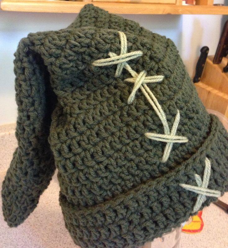 Crochet Zelda Hat : Link hat from Zelda Crochet Pinterest