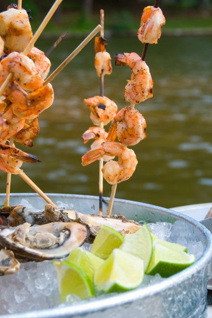 CHILI, LIME & GARLIC GRILLED SHRIMP | Party On | Pinterest