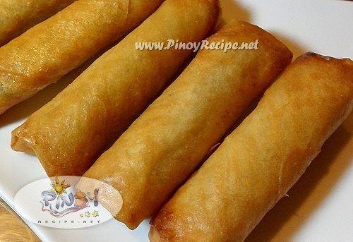 Lumpia Shanghai Recipe | Recipes | Pinterest