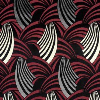 Radio city art deco fabric textile design pinterest for Art deco fabric