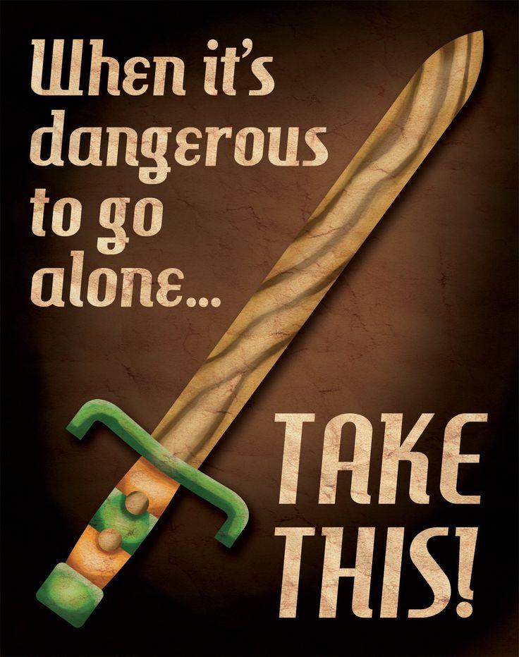 #Zelda Propaganda Poster by Aaron Wood