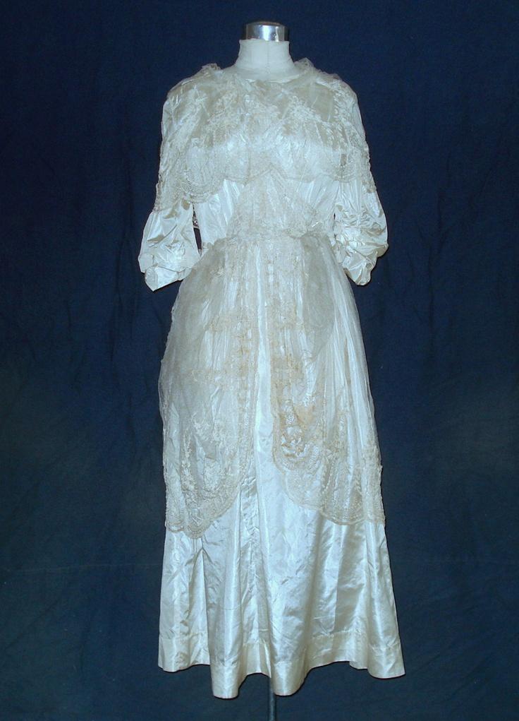 Edwardian Wedding Dress Antique And Vintage Wedding