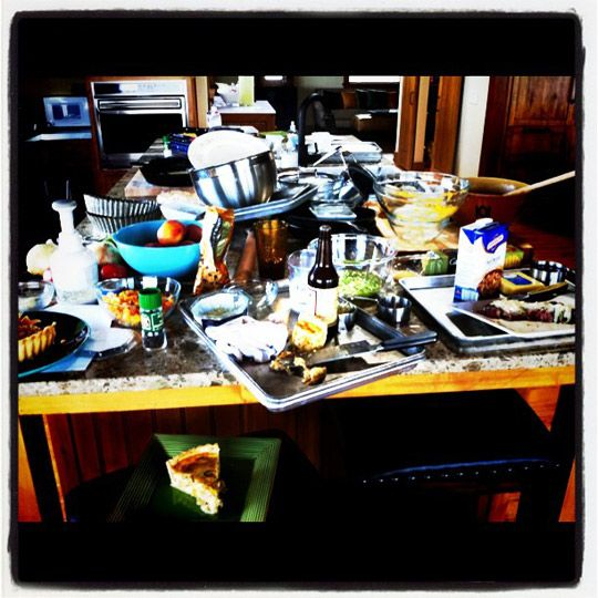 Messy Kitchen Counter: Even The Pioneer Woman Has A Messy Kitchen