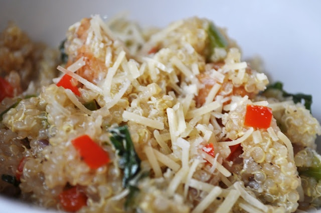 ... basil and walnuts make ahead curried coconut quinoa with shrimp and