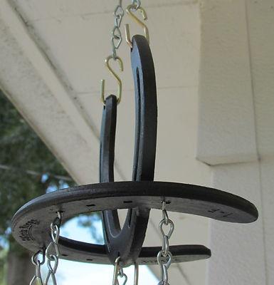 Handmade horseshoe wind chimes arts n 39 crafts pinterest for Horseshoe arts and crafts